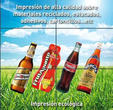 Impresión de alta calidad y ecológica